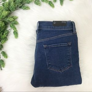 J Brand Ruby High-Rise Cropped Jeans